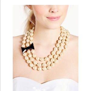 Kate Spade Black Tie Optional necklace